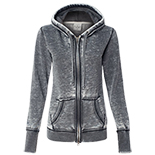 Ladies' Zen Fleece Full-Zip Hooded Sweatshirt