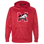 Polyester Hooded Pullover Sweatshirt