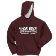 Hooded Sweatshirt with Contrast Hood - Applique Decoration