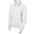 Ladies Full-Zip Stretch Wick Jacket