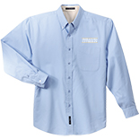 Men's Easy Care Long Sleeve Button-Down Shirt