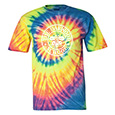 Multi-Color Spiral Short Sleeve T-Shirt