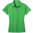 NIKE Ladies Performance Sport Shirt with contrast stitch