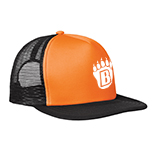 Flat Bill Snapback Trucker Hat