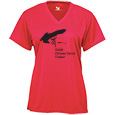 Ladies Performance V-neck Shirt