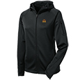 Ladies Performance Full Zip Hooded Jacket