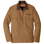 Washed Duck Cloth Chore Coat