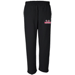 Open Bottom Pocketed Pant - Baseball Logo