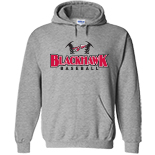 Hooded Sweatshirt - Baseball Logo