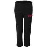 Youth Open Bottom Sweat pant - Fastpitch logo