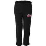 Youth Open Bottom Sweatpant - Baseball logo