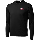 Performance Long Sleeve Shirt - BWYBA logo