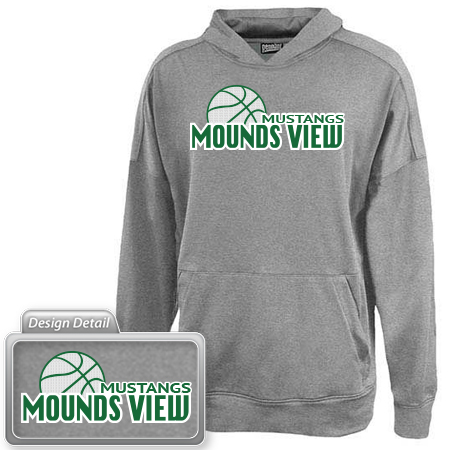 Youth Midweight Performance Hooded - Appliqué