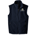 Full Zip Fleece Vest - Men's