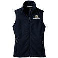 Full Zip Fleece Vest - Ladies