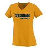 Ladies Wicking Short Sleeve T-Shirt - Softball