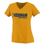 Girls Wicking  T-Shirt - Softball