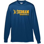 Men's Long Sleeve T-Shirt - Baseball