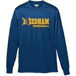 Boys Performance Long Sleeve T-Shirt - Baseball