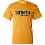 Boys Wicking  T-Shirt - Baseball
