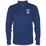 Youth 1/4 zip Performance Pullover - Hardey Prep