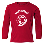 Performance Youth Long Sleeve T-Shirt - Hardey Prep