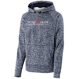 PosiCharge® Electric Heather Fleece Hooded Pullover