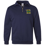 1/4 zip sweatshirt with Cadet Collar