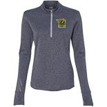 ADIDAS - Women's Brushed Terry 1/4 Zip Jacket