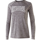 Ladies Electrify long sleeve performance tee