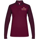 Ladies Sport Tonal Blend 1/4 Zip