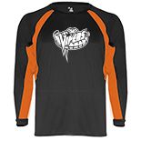 Contrast Long Sleeve Performance Shirt
