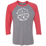 Next Level Tri-Blend 3/4 Sleeve Raglan