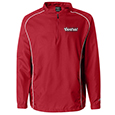 Rawlings 1/4 Zip Dobby Jacket with Piping