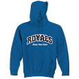 Hooded Sweatshirt - Arched Royals