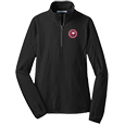 Ladies Microfleece 1/2 Zip Pullover