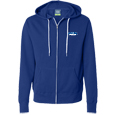 Lightweight Full-Zip Hooded Sweatshirt